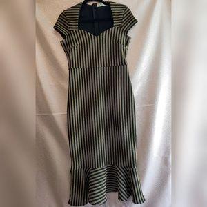 Outrageous Fortune Sweatheart Midi Dress Size 6